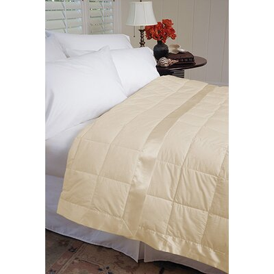 Gervais 100% Cotton Blanket Size: Full/Queen, Color: Khaki