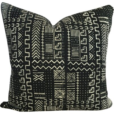 African Print Mud Cloth Pillow Cover