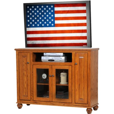 Deluxe TV Stand Finish: Medium