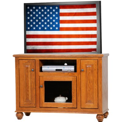 Deluxe TV Stand Finish: Classic Bourbon