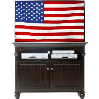 Deluxe 49.5 TV Stand Color: Antique Black
