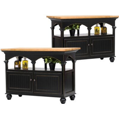 Kitchen Island Base Finish: European Gold