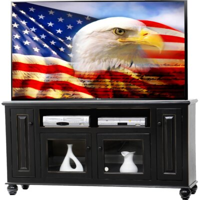 Deluxe TV Stand Finish: Burnt Red