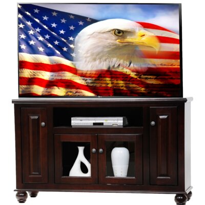 Deluxe TV Stand Finish: Bright White