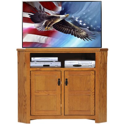 TV Stand Finish: Classic Bourbon