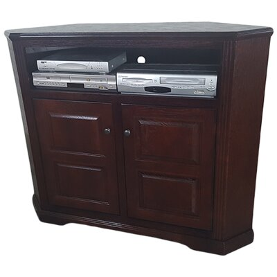Oak Corner 50 TV Stand Color: Dark