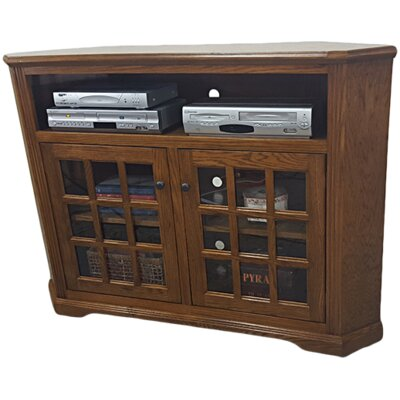 Oak Corner 57 TV Stand Color: Dark