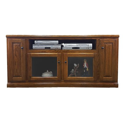 Oak 66 TV Stand Color: Light