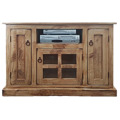 Rustic TV Stand Finish: Rustic Dark Blue