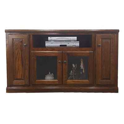 Oak 55 TV Stand Color: Dark