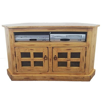 Rustic Corner 50 TV Stand Color: Rustic Light Blue