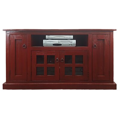 Rustic 57.5 TV Stand Color: Rustic Red