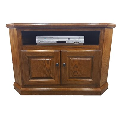 Oak Corner 41 TV Stand Color: Medium