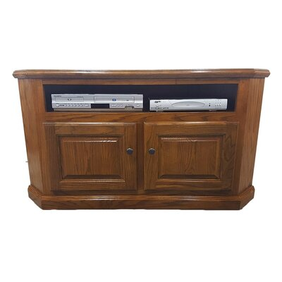 Oak Corner 50 TV Stand Color: Light