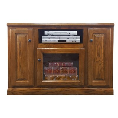 Oak 45.5 TV Stand Color: Dark
