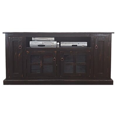 Rustic 68.5 TV Stand Color: Rustic Antique Black