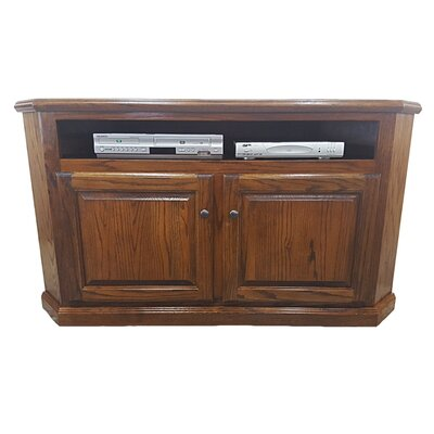 Oak Corner 57 TV Stand Color: Medium