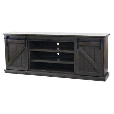 Mihika 82 TV Stand Color: Dark Blue