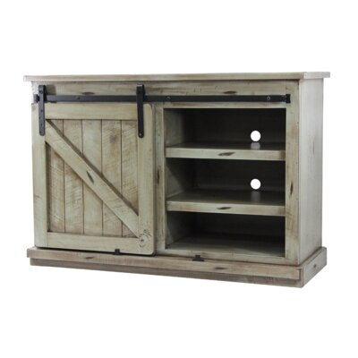 Caran 47 TV Stand Color: Antique Black