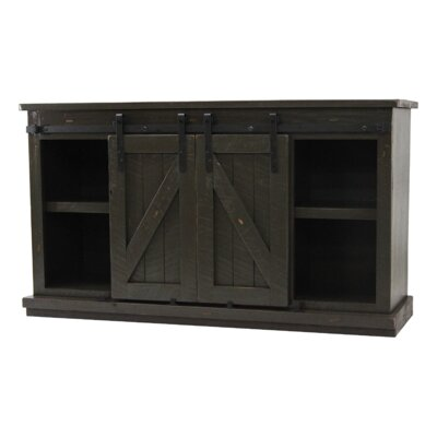 Mihika 57 TV Stand Color: Gray