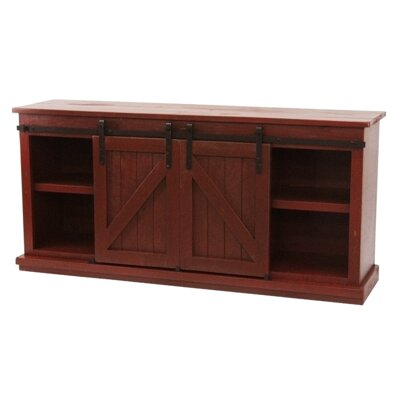 Mihika 68 TV Stand Color: Antique Black