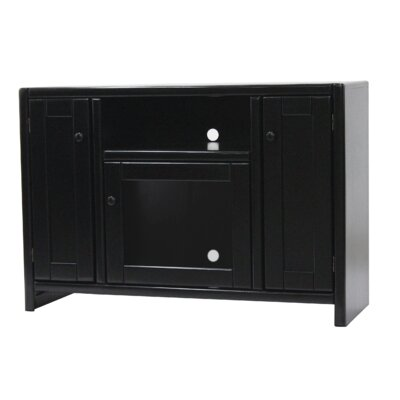 Jessi Poplar 45 TV Stand Color: Antique Black