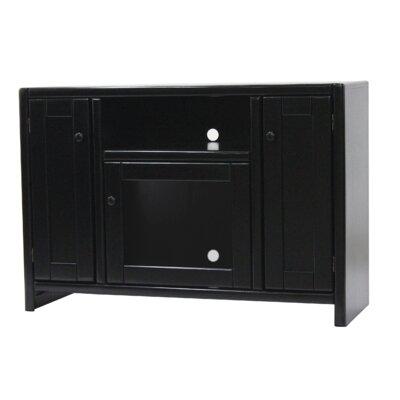 Jessi Poplar 45 TV Stand Color: Antique Black