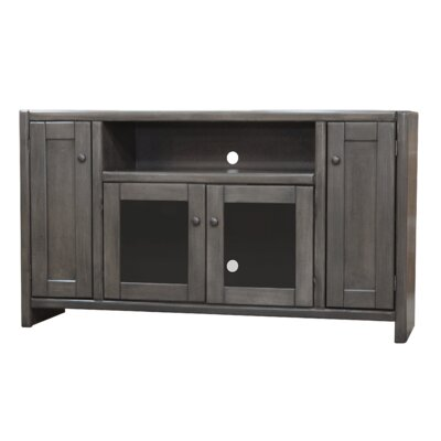Richland Poplar 55 TV Stand Color: Gray Stone