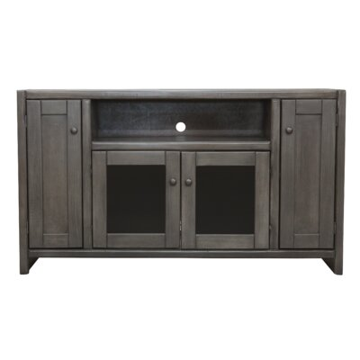 Richland Poplar 55 TV Stand Color: Bright White