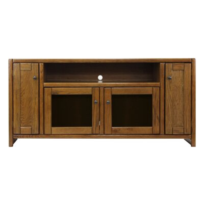 Conner Oak 66 TV Stand Color: Brown