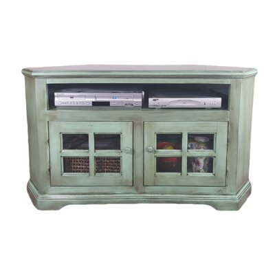 Poplar Corner 50 TV Stand Color: European Ash