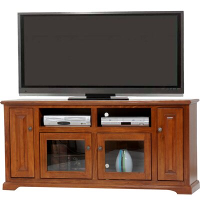 Deluxe 68 TV Stand Color: Burnt Red