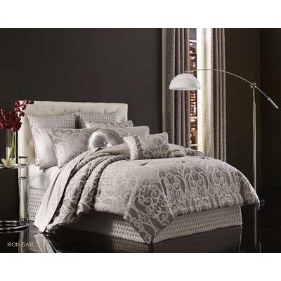 Ivy 4 Piece Comforter Set Size: King