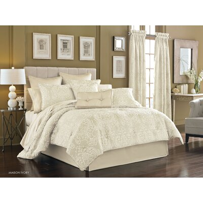Maureen 4 Piece Queen Comforter Set