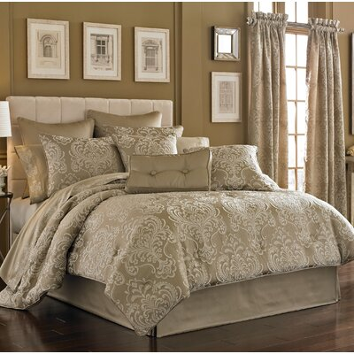 Maureen 4 Piece King Comforter Set
