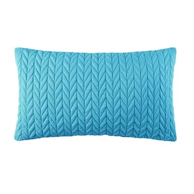 Brott Contemporary Rectangular Boudoir Pillow Color: Turquoise