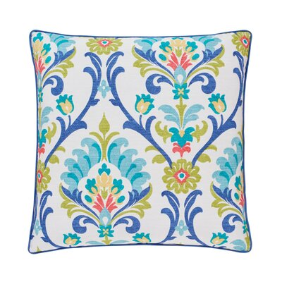 Palmetto Caribbean Square Throw Pillow