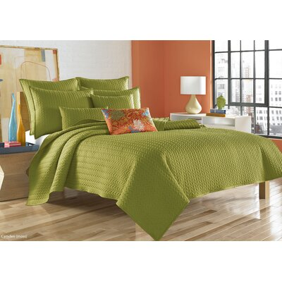 Brott Coverlet Size: Twin, Color: Moss