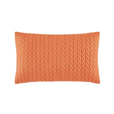Brott Classic Square Boudoir Pillow Color: Orange