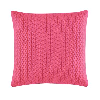 Armida Square Throw Pillow Color: Pink