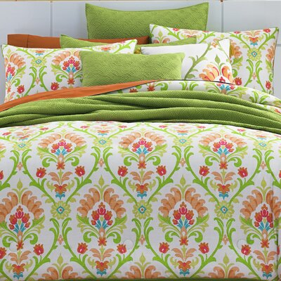 Palmetto 4 Piece Comforter Set Size: King