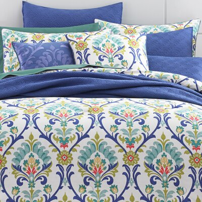 Palmetto Caribbean Comforter Set Size: West Coast King