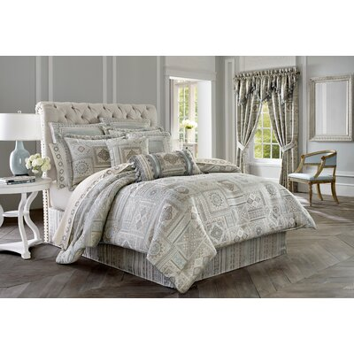 Marissa 4 Piece Comforter Set Size: King
