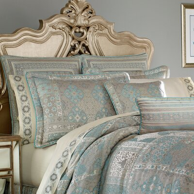 Abigail 4 Piece Comforter Set Size: California King