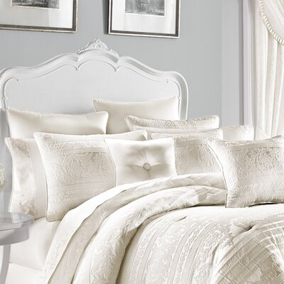 Mackay 4 Piece Comforter Set Size: Queen