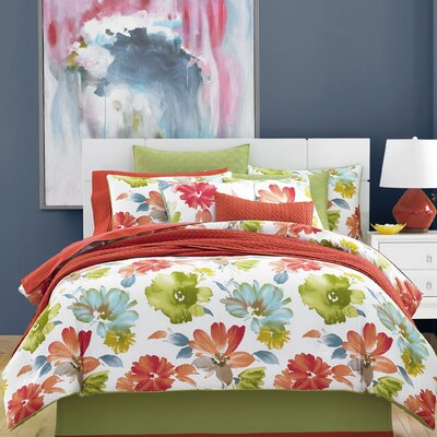 Madie 4 Piece Twin Comforter Set Size: California King