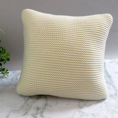 Cranford Throw Pillow Color: Ivory