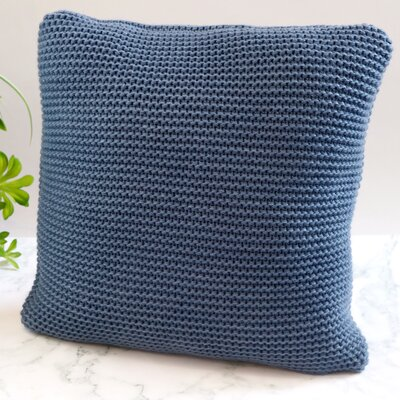 Cranford Throw Pillow Color: Blue