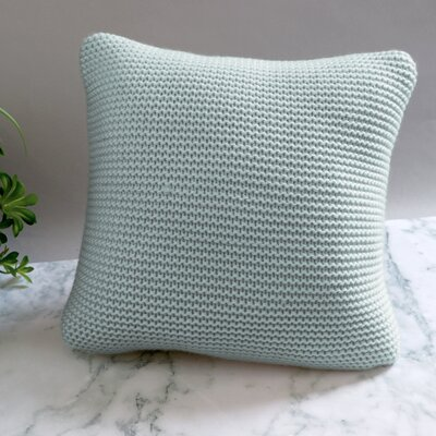 Cranford Throw Pillow Color: Aqua