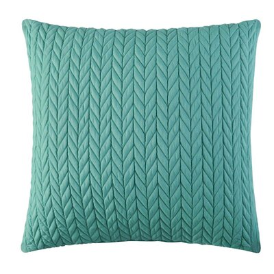 Brott Contemporary Square Throw Pillow